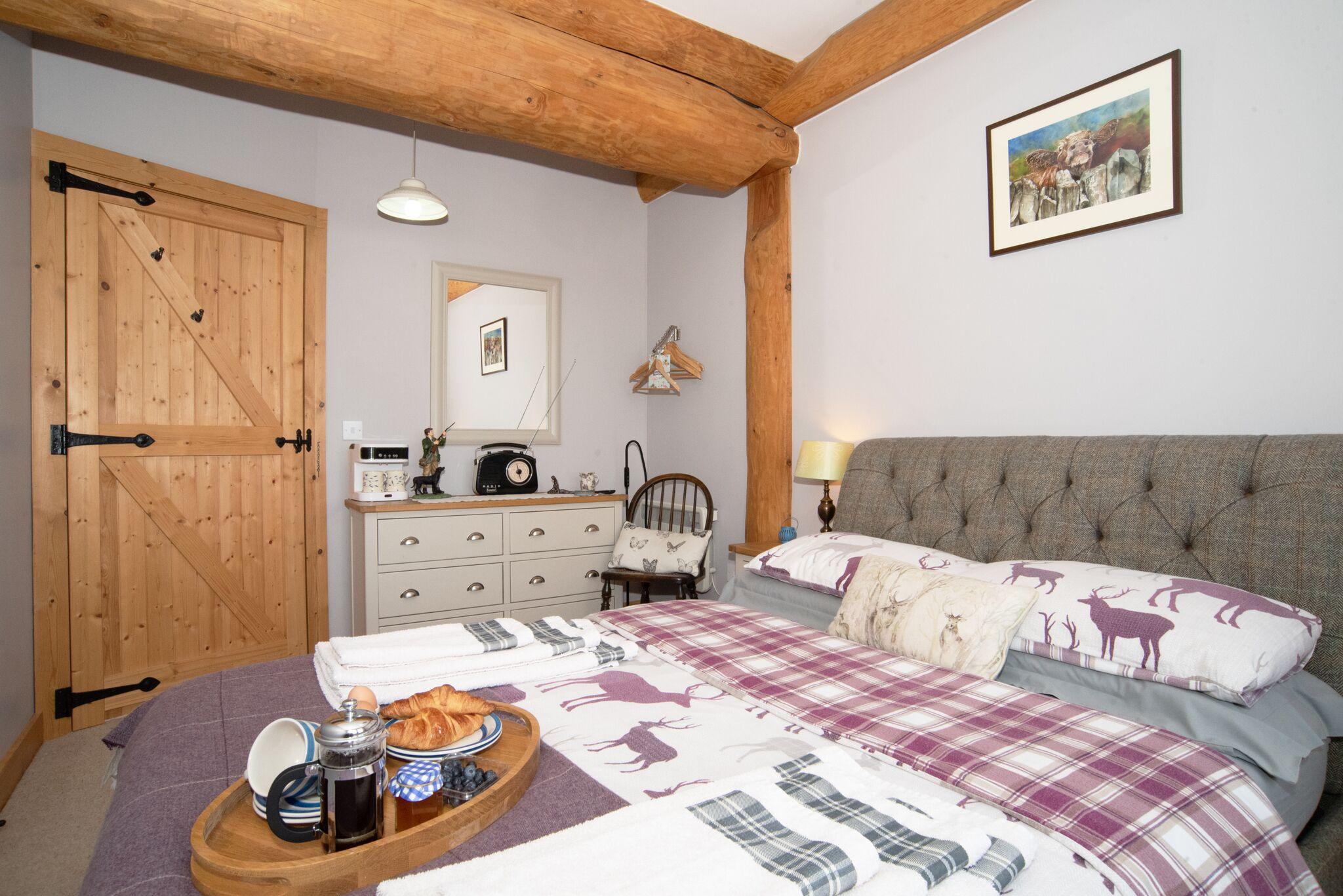 MAster Bedroom with breakfast
