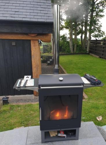Outdoor Grill and Heater